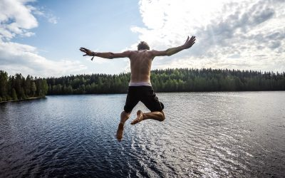 Jump out like there is no tomorrow